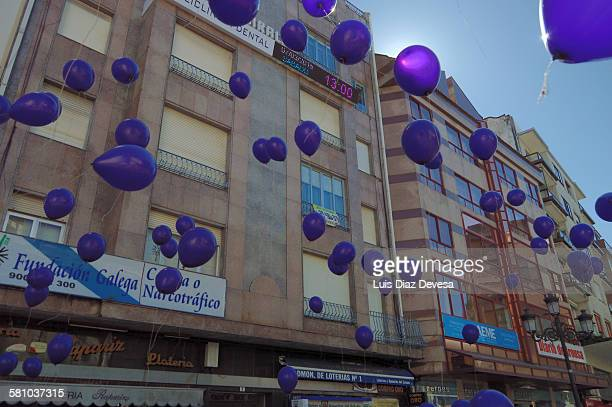 Acts of International Women's Day in Vilagarcía