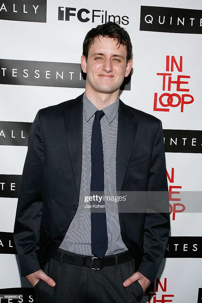 Acttor Zach Woods attends a screening of 'In The Loop' at the IFC Center on April 26, 2009 in New York City.