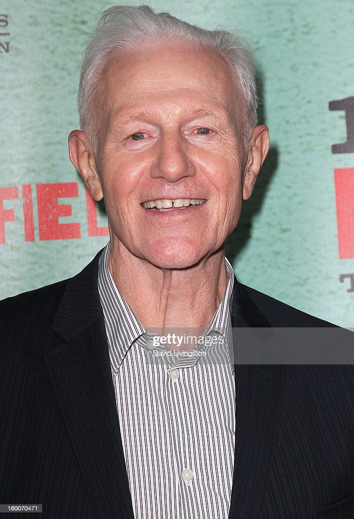 Actyor Raymond J. Barry attends the premiere of FX's 'Justified' Season 4 at the Paramount Theater on the Paramount Studios lot on January 5, 2013 in Hollywood, California.
