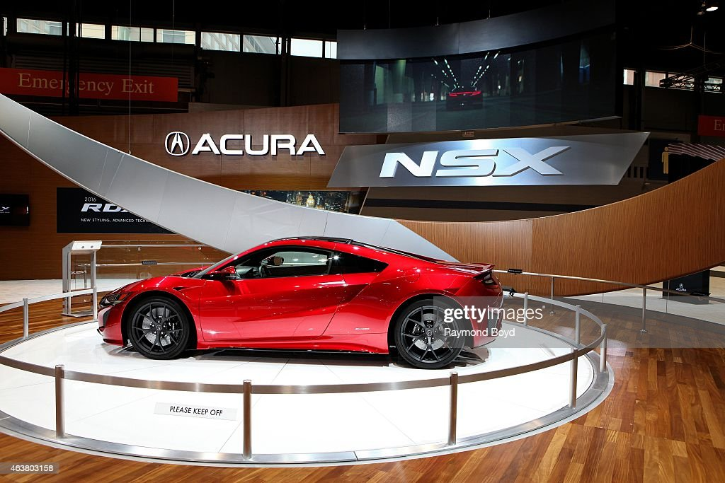 Acura NSX at the 107th Annual Chicago Auto Show at McCormick Place in Chicago Illinois on FEBRUARY 13 2015