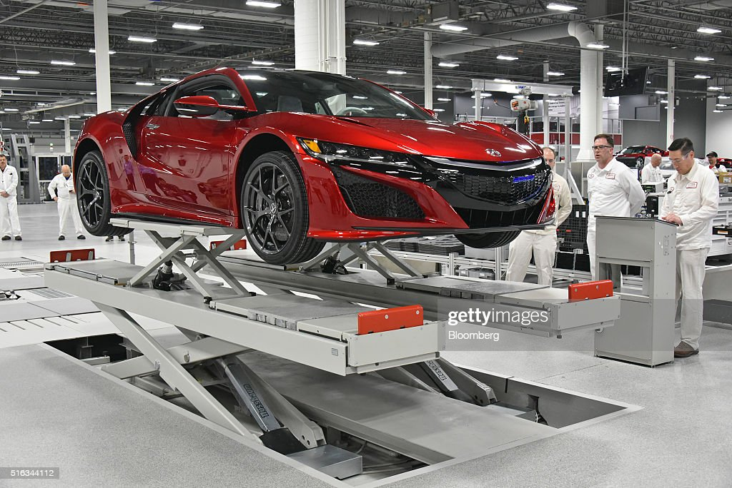 Inside The Honda Motor Co Acura Performance Manufacturing Center Getty Images