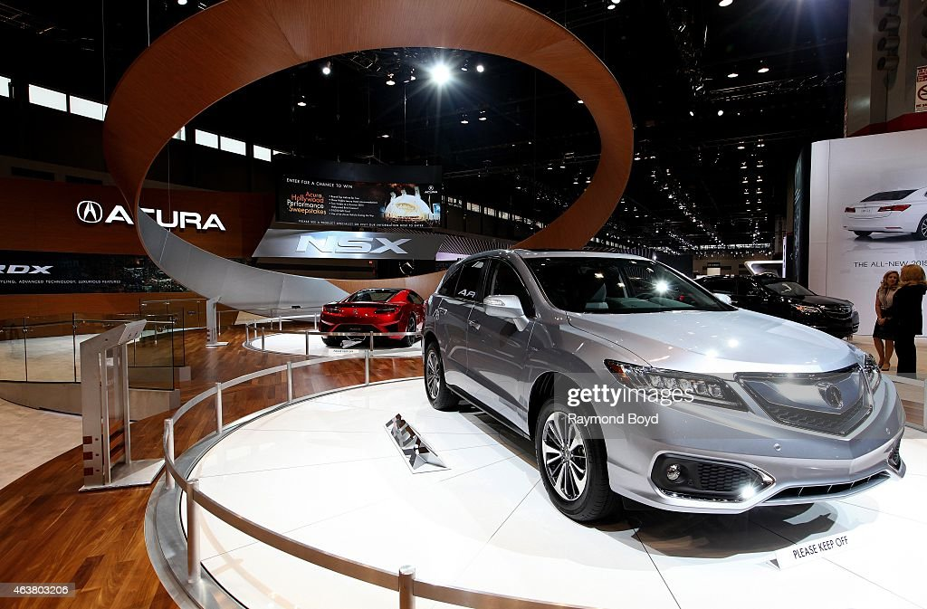 Acura RDX at the 107th Annual Chicago Auto Show at McCormick Place in Chicago Illinois on FEBRUARY 13 2015
