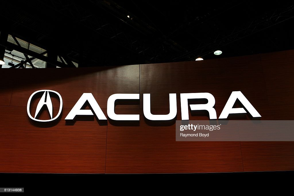 Acura signage is on display at the 108th Annual Chicago Auto Show at McCormick Place in Chicago Illinois on February 19 2016