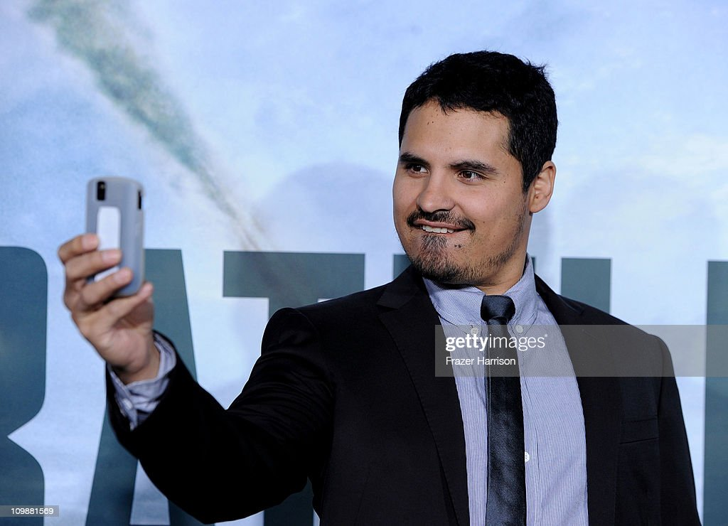 Acyor Michael Pena arrives at the premiere of Columbia Pictures' 'Battle Los Angeles' at the Regency Village Theater on March 8 2011 in Westwood...