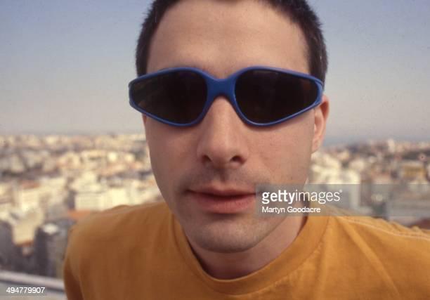 Ad Rock of the Beastie Boys portrait Portugal 1998