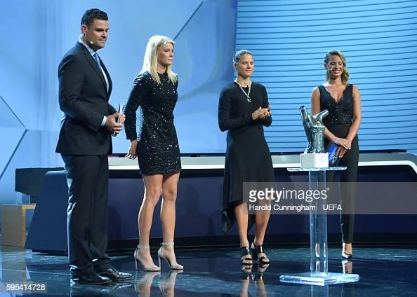 Ada Hegerberg is announced as the winner of the UEFA Best Womens ...