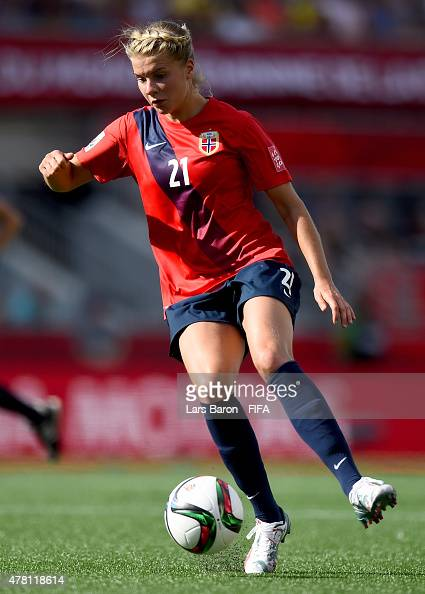 Ada Hegerberg of Norway runs with the ball during the FIFA Women's ...