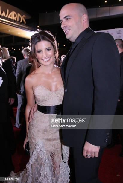 Ada Nicodemou and Chrys Xipolites during 2006 TV Week Logie Awards Arrivals at Crown Casino in Melbourne VIC Australia