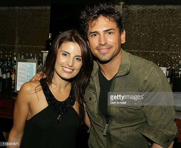 Ada Nicodemou and Justin Melvey during Ada Nicodemou Surprise Birthday Party May 13 2007 at Sapphire Suite in Sydney Australia