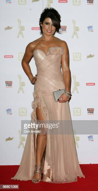 Ada Nicodemou arrives at the 52nd TV Week Logie Awards at Crown Casino on May 2 2010 in Melbourne Australia
