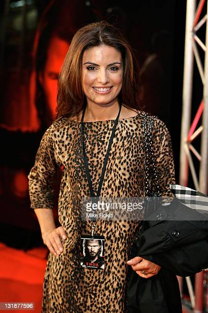 Ada Nicodemou arrives at the World Premiere of 'Thor' at Event Cinemas George Street on April 17 2011 in Sydney Australia