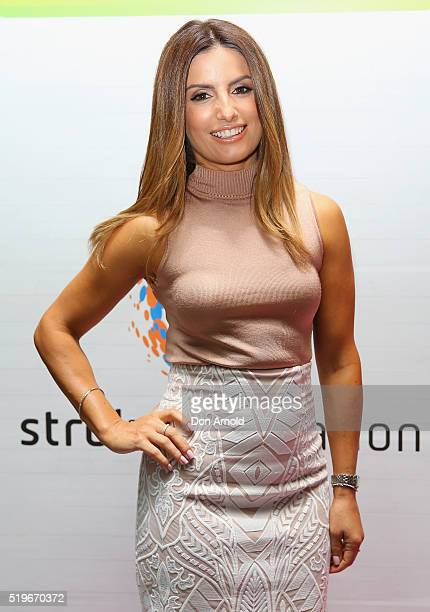 Ada Nicodemou attends the launch of Australia's Biggest Blood Pressure Check on April 8 2016 in Sydney Australia