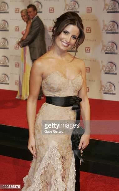 Ada Nicodemou during 2006 TV Week Logie Awards Arrivals at Crown Casino in Melbourne VIC Australia