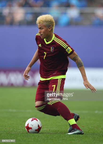 Adalberto Penaranda of Venezuela during the FIFA U20 World Cup Korea Republic 2017 Round of 16 match between Venezuela and Japan at Daejeon World Cup...