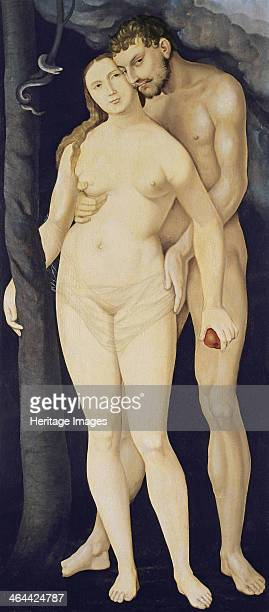 Adam and Eve 1531 Found in the collection of the ThyssenBornemisza Collections