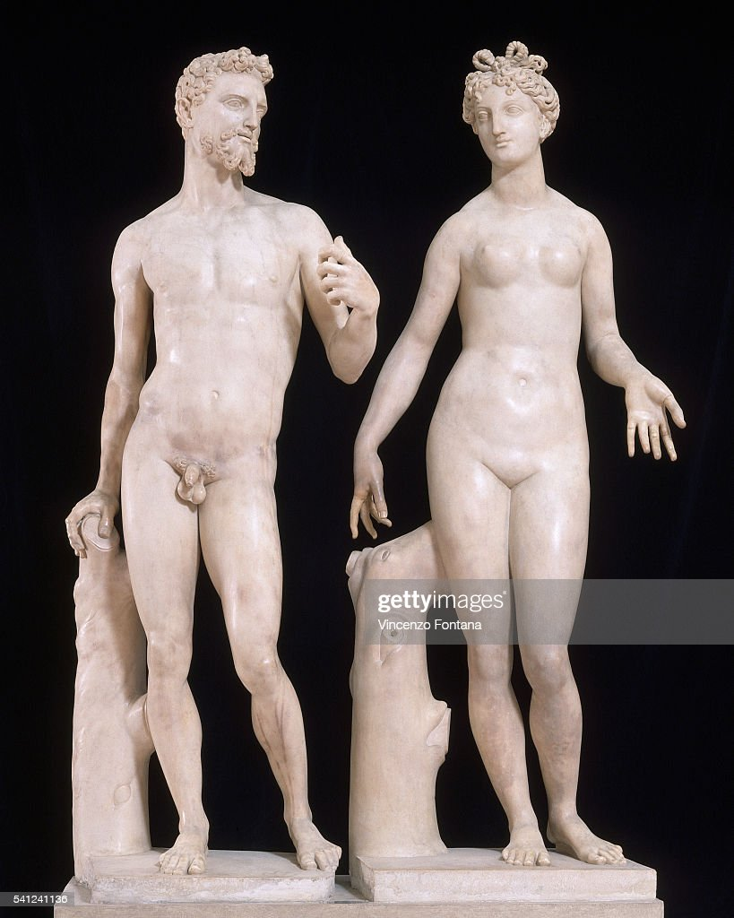 adam and eve by baccio bandinelli pictures getty images
