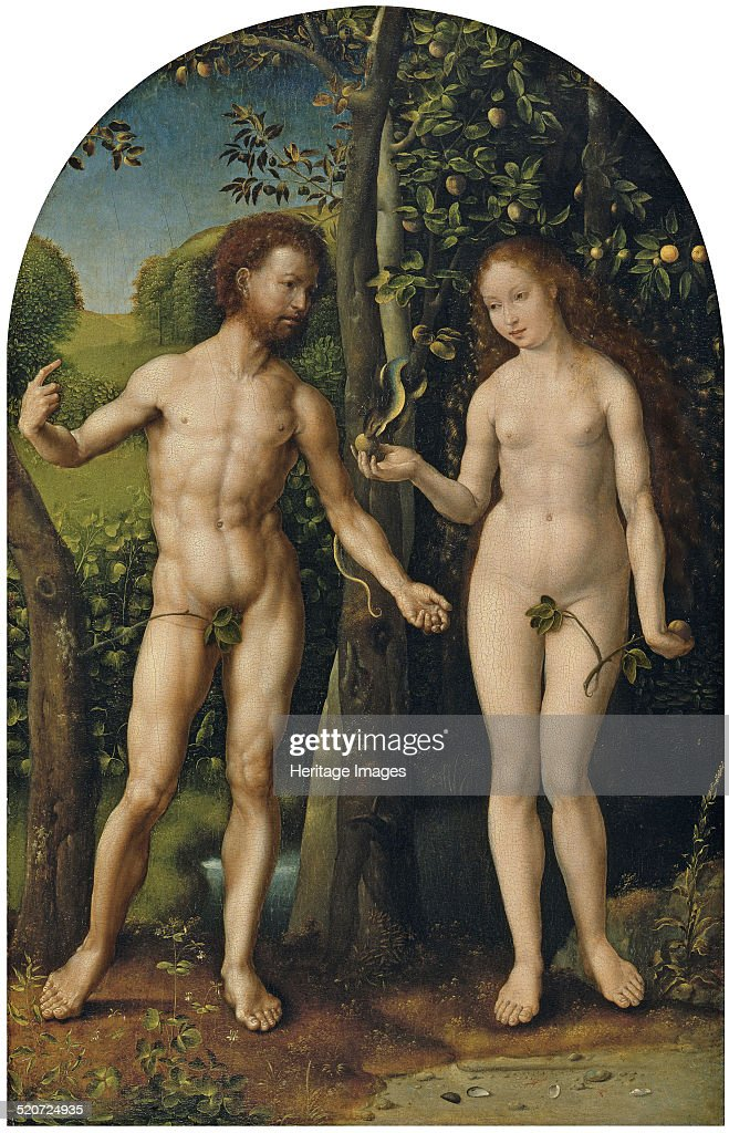 Adam and Eve. Found in the collection of Thyssen-Bornemisza Collections.