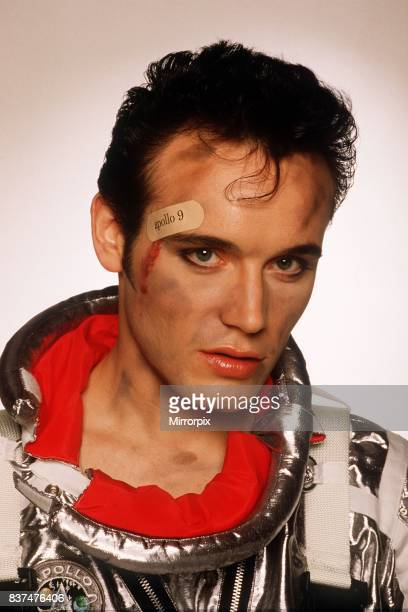 Adam Ant lead Singer of the pop group Adam and the Ants promotional picture for record Apollo 9 September 1984