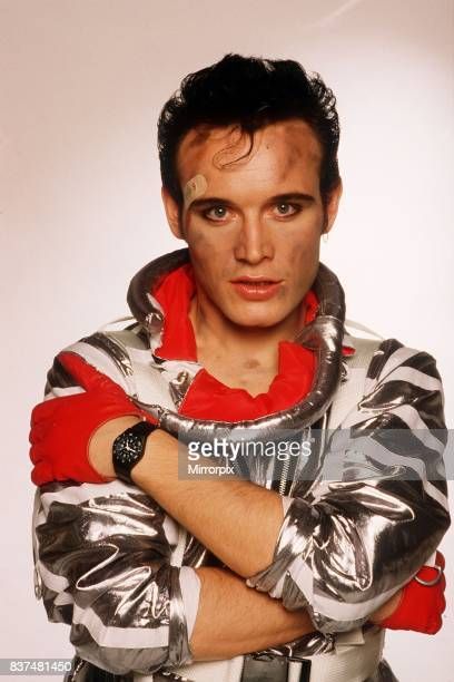 Adam Ant lead Singer of the pop group Adam and the Ants promotional picture for record Apollo 9