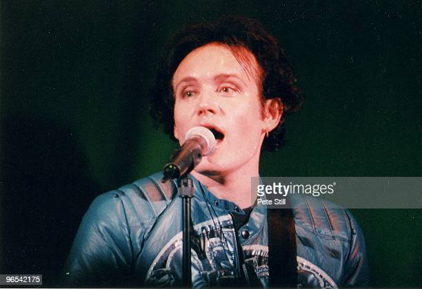 Adam Ant of Adam and the Ants performs on stage on his solo concert tour at The Empire Theatre in Shepherds Bush on March 22nd 1995 in London United...