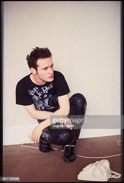 Adam Ant portrait London 29 July 1980