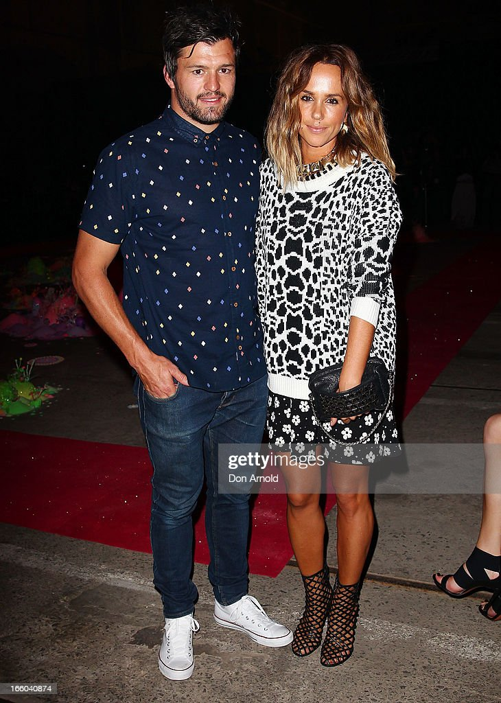<a gi-track='captionPersonalityLinkClicked' href=/galleries/search?phrase=Adam+Ashley-Cooper&family=editorial&specificpeople=637621 ng-click='$event.stopPropagation()'>Adam Ashley-Cooper</a> and Pip Edwards attend the Romance was Born show during Mercedes-Benz Fashion Week Australia Spring/Summer 2013/14 at Carriageworks on April 8, 2013 in Sydney, Australia.