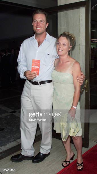 Adam Baldwin and wife Amy at the premiere of 'The Patriot' The premiere was held 6/27/00 at Loews Century Plaza Theater in Los Angeles Ca