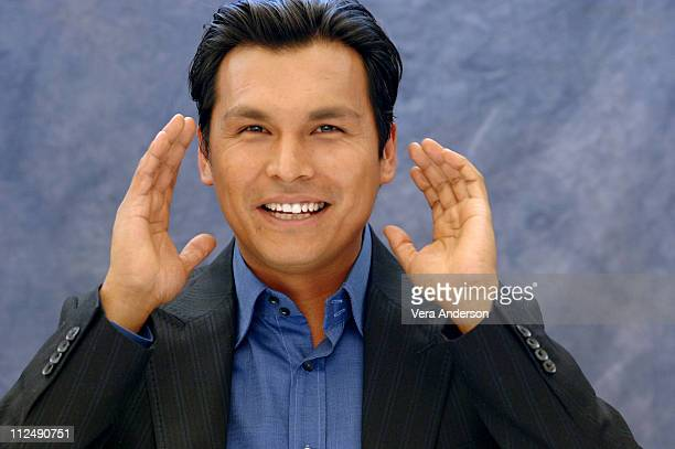 Adam Beach during 'Flags of Our Fathers' Press Conference with Clint Eastwood Adam Beach and Jesse Bradford at Warner Bros Studio in Burbank...