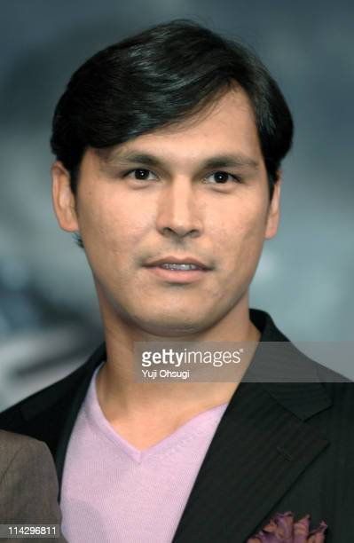 Adam Beach during 'Flags of Our Fathers' Tokyo Press Conference at Roppongi Academy Hills in Tokyo Japan