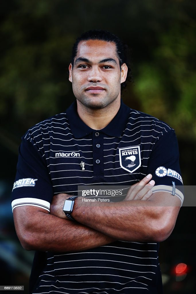 Adam Blair poses for a portrait after being announced as the new Kiwis captain following a New Zealand Rugby League media opportunity at Rugby League House on May 28, 2017 in Auckland, New Zealand.