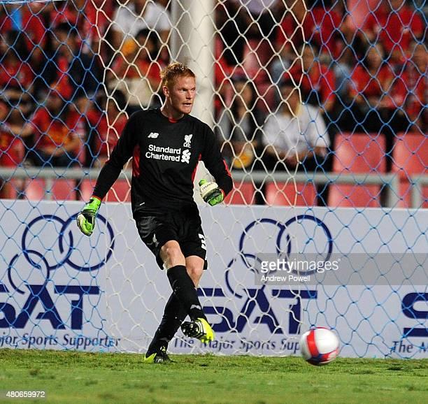 Adam Bogdan of Liverpool during the international friendly match between Thai Premier League All Stars and Liverpool FC at Rajamangala Stadium on...