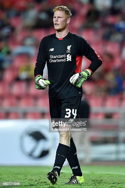 Adam Bogdan of Liverpool poses during the international friendly match between Thai Premier League All Stars and Liverpool FC at Rajamangala Stadium...