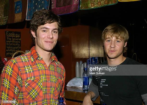 Adam Brody and Benjamin McKenzie in Backstage Creations Talent Retreat