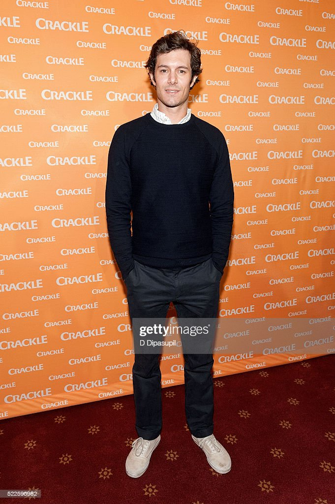 Adam Brody attends Crackle's 2016 Upfront Presentation at New York City Center on April 20, 2016 in New York City.