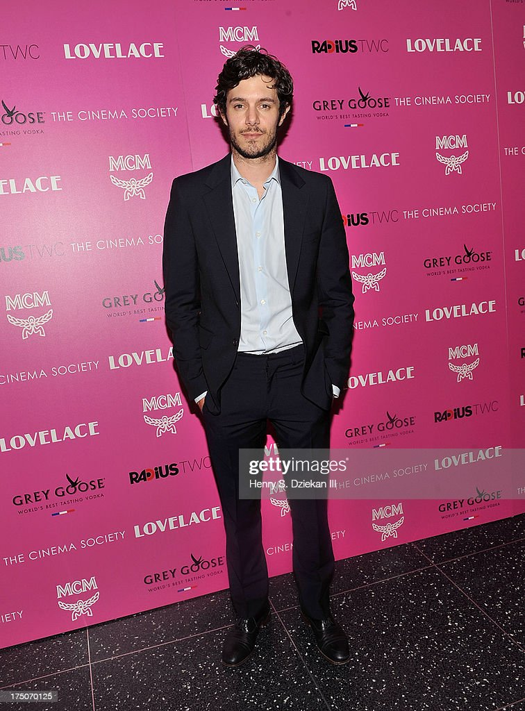 Adam Brody attends The Cinema Society and MCM with Grey Goose screening of Radius TWC's 'Lovelace' at Museum of Modern Art on July 30, 2013 in New York City.