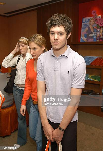 Adam Brody during The Lucky/Cargo Club An Upfront Week Hospitality Suite Day 2 at Le Parker Meridien in New York City New York United States