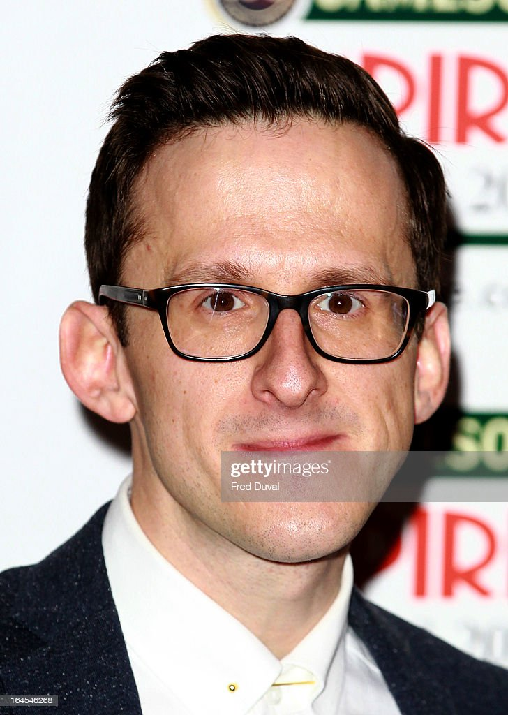 Adam Brown attends the Jameson Empire Film Awards at The Grosvenor House Hotel on March 24, 2013 in London, England.