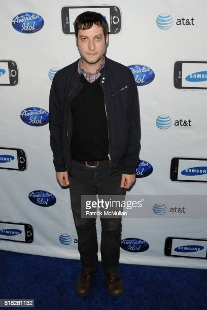 Adam Busch attends Samsung hosts the American Idol top 24 semifinalists at STK and Coco de Ville on February 18 2010 in Los Angeles California