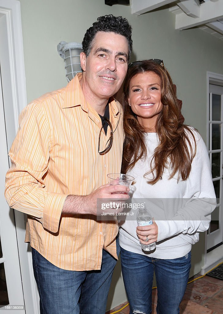 Adam Carolla and Lynette Carolla attend Adam Carolla's Cinco De Mangria party benefiting Children's Hospital Los Angeles on May 5, 2013 in Malibu, California.