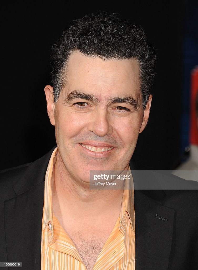 Adam Carolla arrives at the Los Angeles premiere of 'Wreck-It Ralph' at the El Capitan Theatre on October 29, 2012 in Hollywood, California.