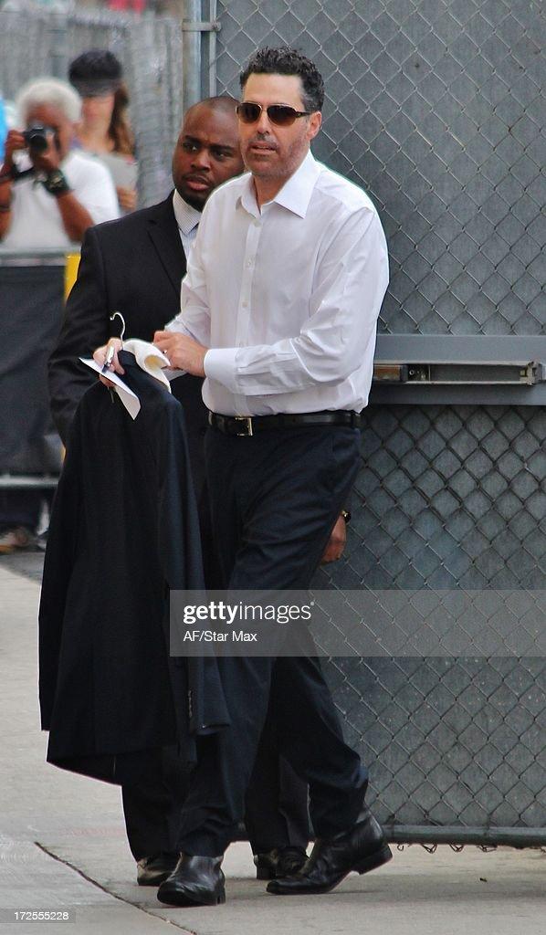 Adam Carolla as seen on July 2, 2013 in Los Angeles, California.