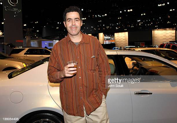 Adam Carolla during 100th Anniversary of the LA Auto Show VIP Preview Night at Los Angeles Convention Center in Los Angeles California United States