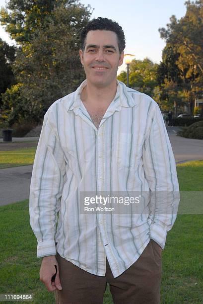 Adam Carolla during Cinema al Fresco's Screening of 'Cinema Paradiso' at La Brea Tar Pits in Los Angeles California United States