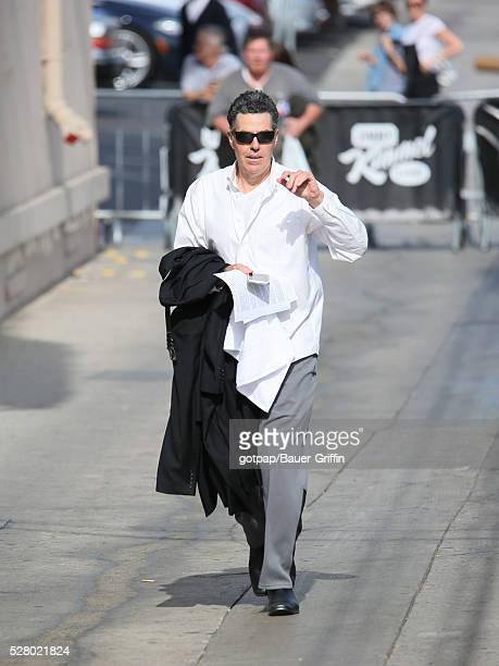 Adam Carolla is seen at 'Jimmy Kimmel Live' on May 03 2016 in Los Angeles California