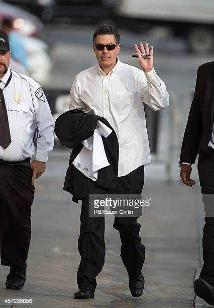 Adam Carolla is seen at 'Jimmy Kimmel Live' on October 14 2014 in Los Angeles California