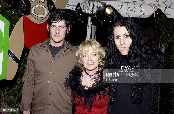 Adam Carson KROQ's Tami Heide and Davey Havok