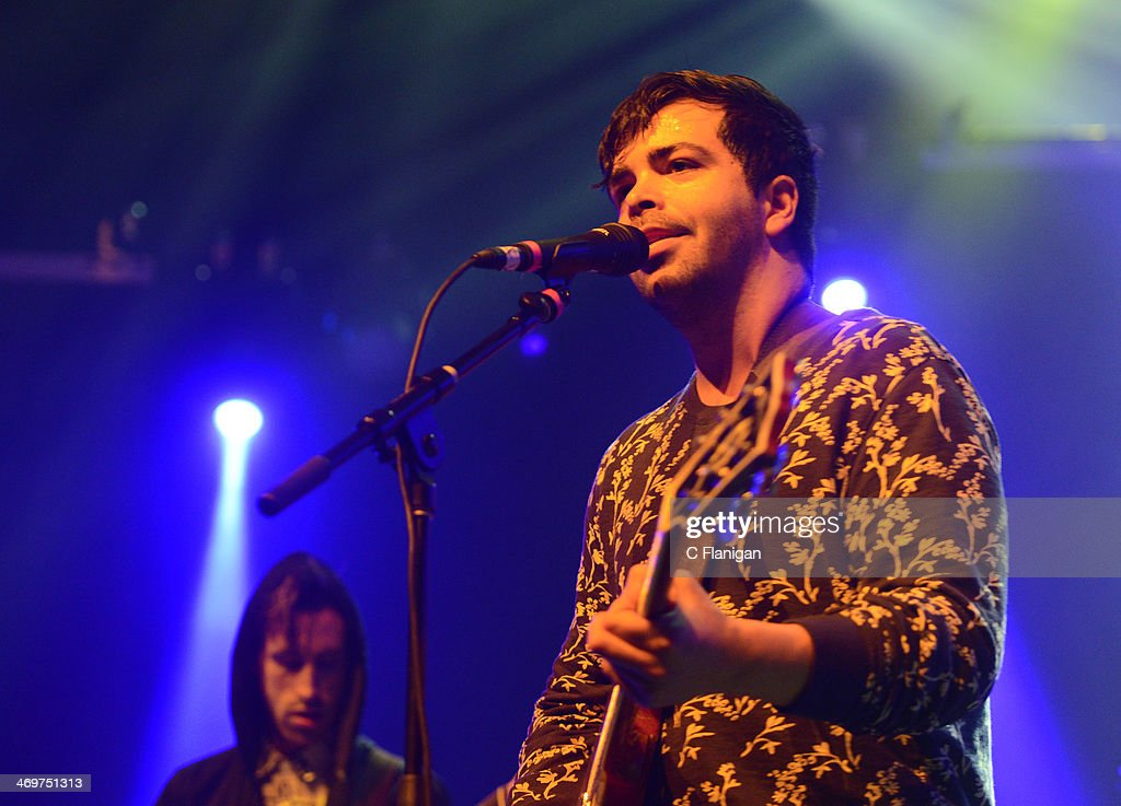 Adam Castilla of The Colourist performs at The Fox Theatre on February 15, 2014 in Oakland, California.