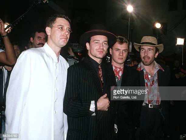 Adam Clayton Bono Larry Mullen and The Edge of U2