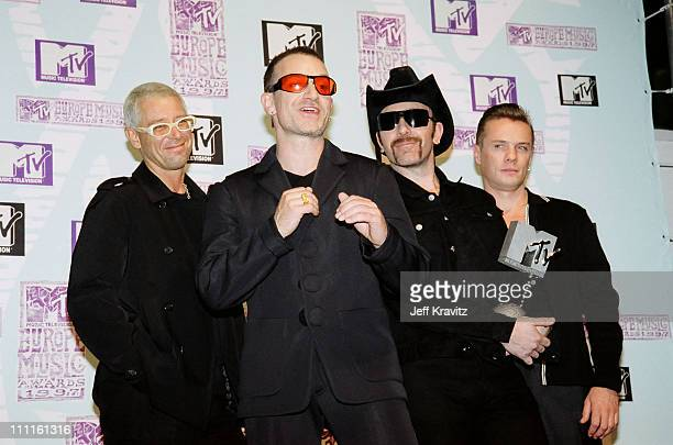 Adam Clayton Bono The Edge and Larry Mullen Jr of U2