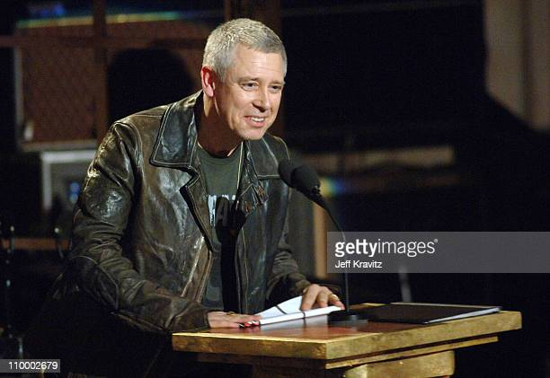 Adam Clayton of U2 inductee during 20th Annual Rock and Roll Hall of Fame Induction Ceremony Show at Waldorf Astoria Hotel in New York City New York...